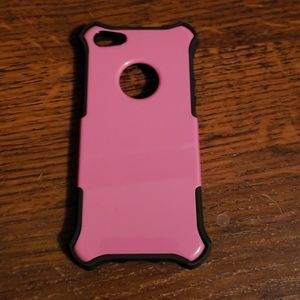 Pink and Black iPhone 5s case